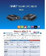 HD383 HDbitT HDMI Network Extender Signal up to 120m